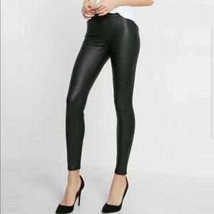 Material Girl Juniors leather leggings